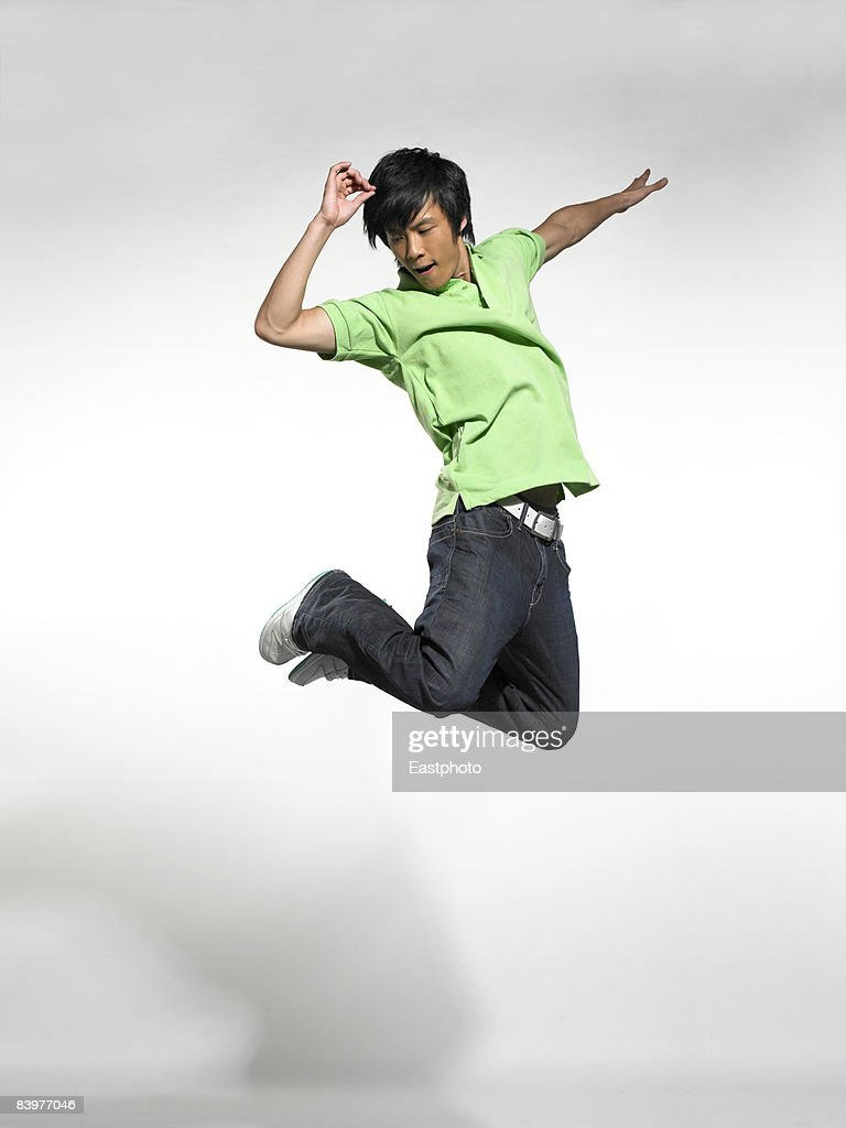 Man jumping. : Stock Photo