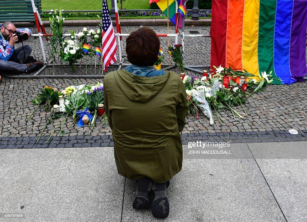 GERMANY-US-ATTACKS-GAY : News Photo
