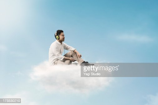 Sitting On Clouds – Therefore, sitting on a cloud is sitting on miniscule water droplets.
