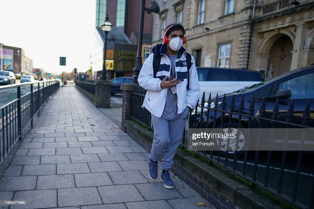 Hull Records Highest Covid-19 Infection Rate In England : News Photo