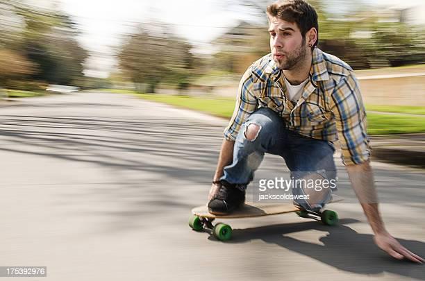 Mann longboarding