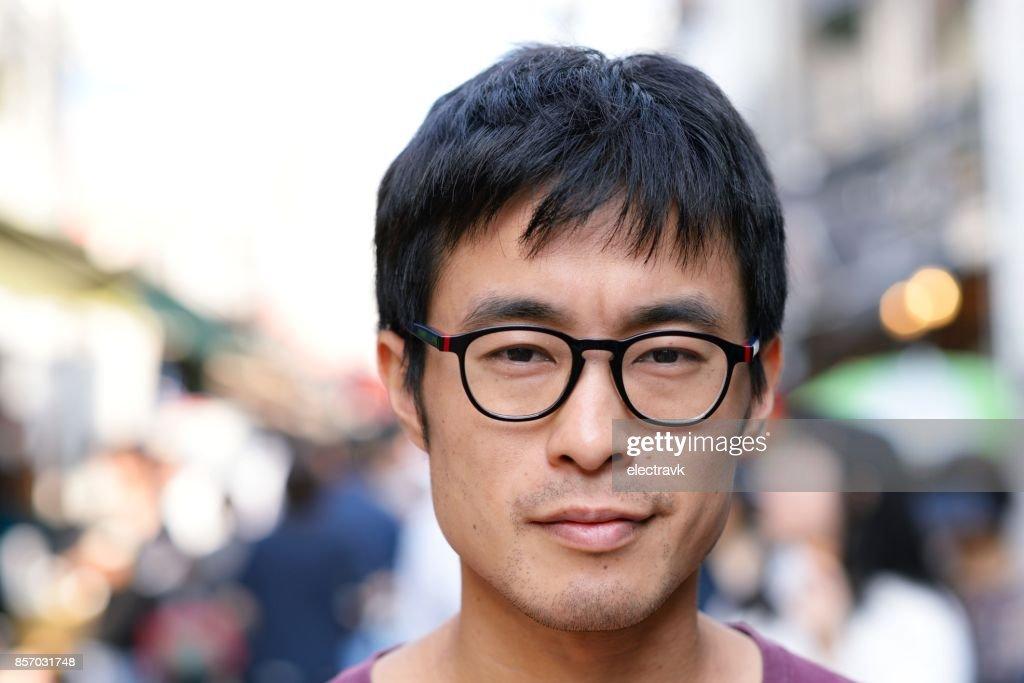Man looking at the camera : Stock Photo