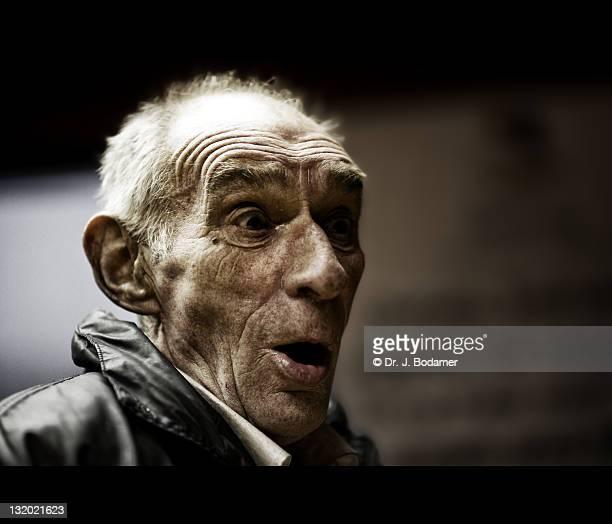 Man looking surprised