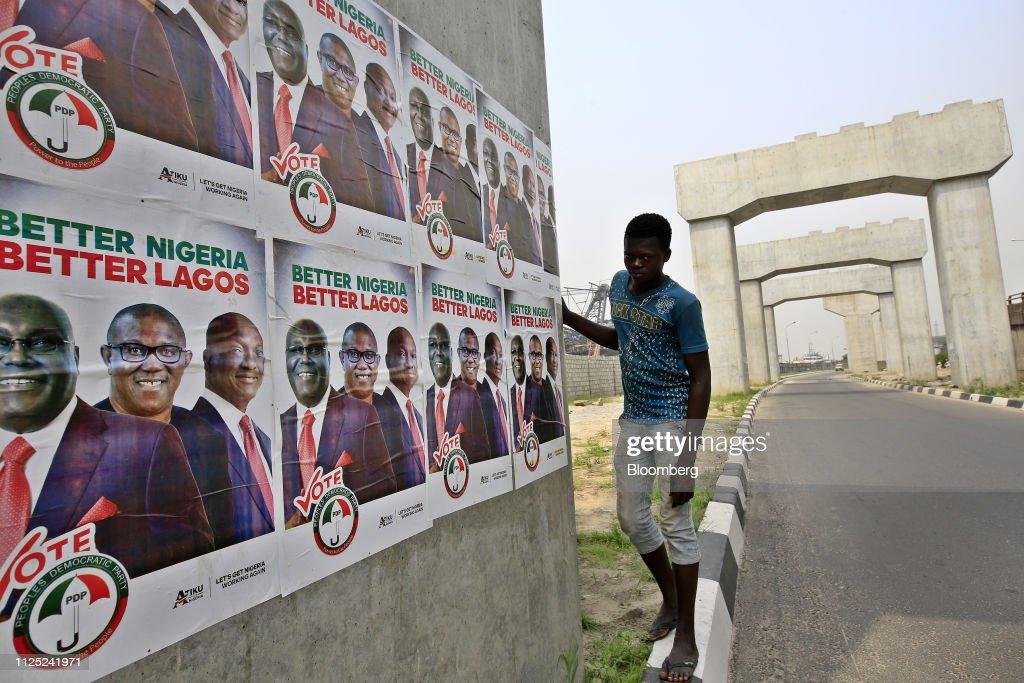 Nigeria Heads To The Polls : News Photo