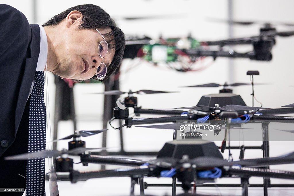 International Drone Expo 2015 : News Photo
