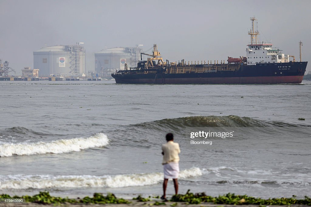 Images From Around Cochin Port Ahead Of Trade Figures : ニュース写真