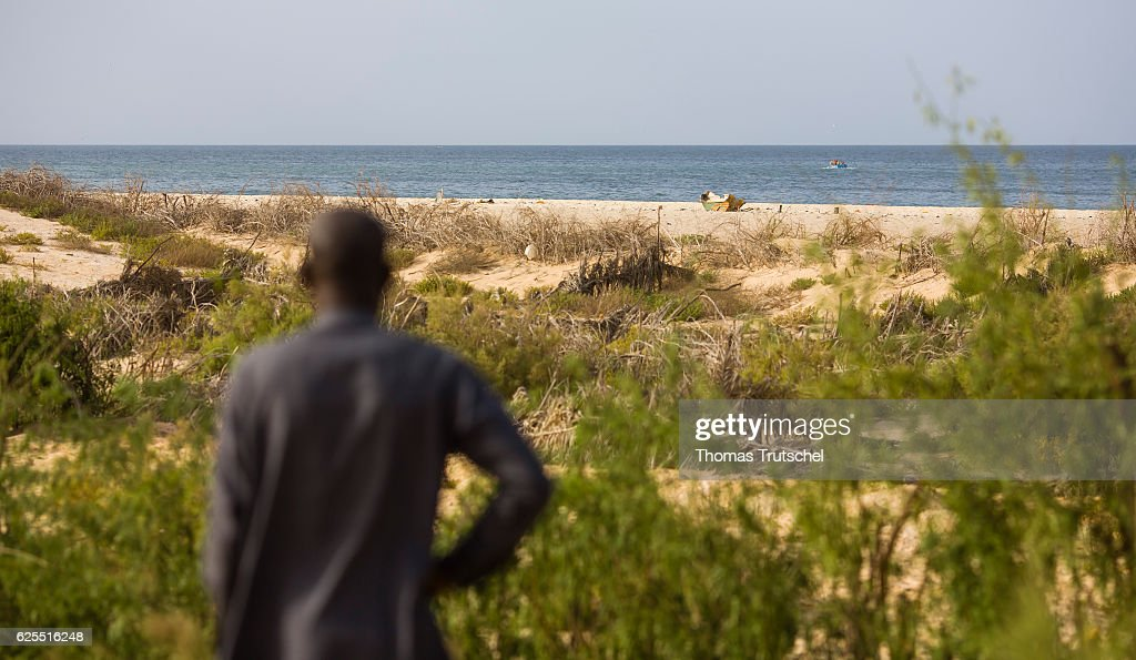 Rising Sea Level On The Coast Of West Africa : News Photo