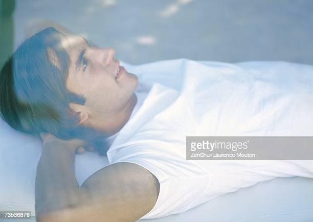 Man lying down