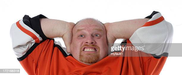 man makes expression38 - goatee stock pictures, royalty-free photos & images