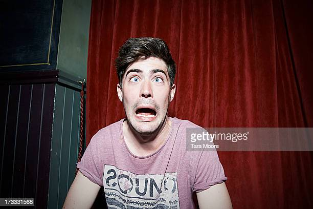 man making funny face - pulling funny faces stock pictures, royalty-free photos & images