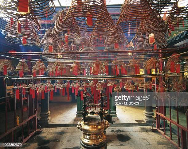 Man Mo Temple Sheung Wan Hong Kong China