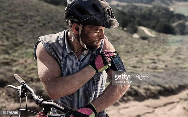 Man, Mountain Bike Gear, Helmet, Tech, Grit