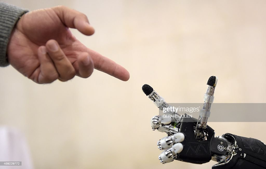 SPAIN-TECHNOLOGY-ROBOT : News Photo