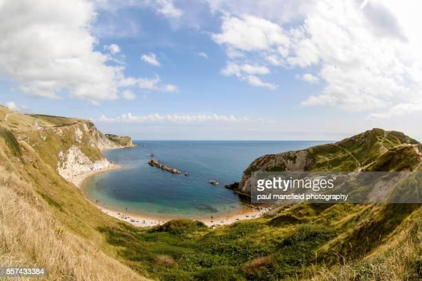 Man o War Bay, Jurassic Coast, Dorset, England