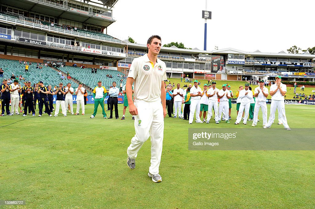 South Africa v Australia - 2nd Test: Day 5 : News Photo