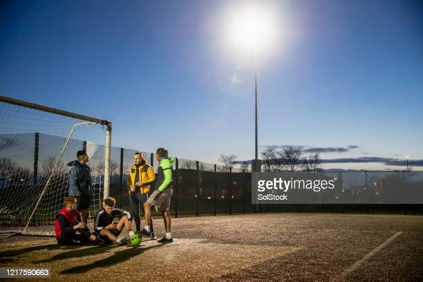 man of the match - training grounds stock pictures, royalty-free photos & images