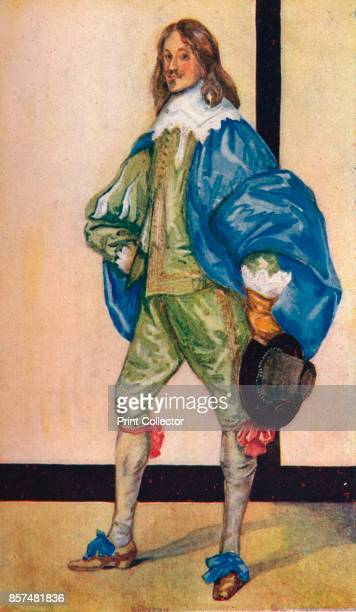 A Man of the Time of Charles I' 1907 From English Costume painted and described by Dion Clayton Calthrop [Adam Charles Black London 1907] Artist Dion...