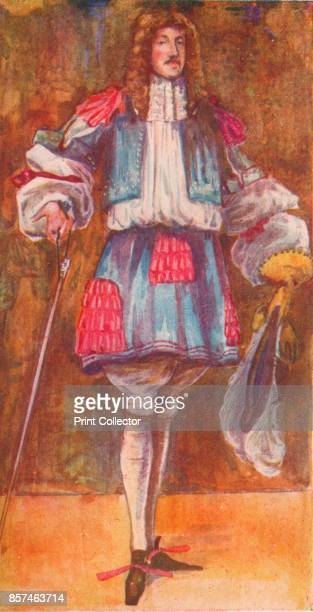 A Man of the Time of Charles II' 1907 From English Costume painted and described by Dion Clayton Calthrop [Adam Charles Black London 1907] Artist...