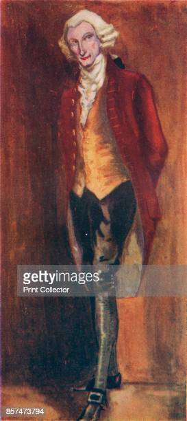 A Man of the Time of George III' 1907 From English Costume painted and described by Dion Clayton Calthrop [Adam Charles Black London 1907] Artist...