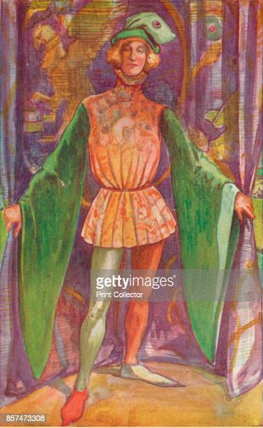 A Man of the Time of Henry V' 1907 From English Costume painted and described by Dion Clayton Calthrop [Adam Charles Black London 1907] Artist Dion...