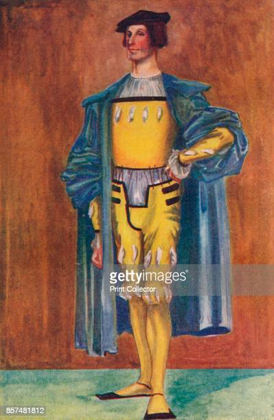 Man of the Time of Henry VIII', 1907. From English Costume, painted and described by Dion Clayton Calthrop. [Adam & Charles Black, London, 1907]....