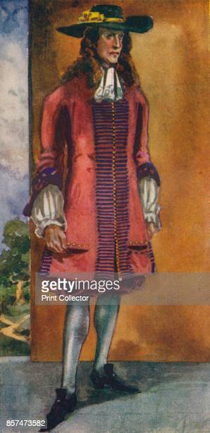 A Man of the Time of James II' 1907 From English Costume painted and described by Dion Clayton Calthrop [Adam Charles Black London 1907] Artist Dion...