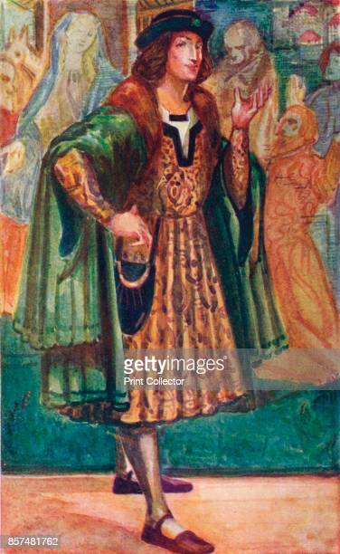 Man of the Time of Richard III', 1907. From English Costume, painted and described by Dion Clayton Calthrop. [Adam & Charles Black, London, 1907]....