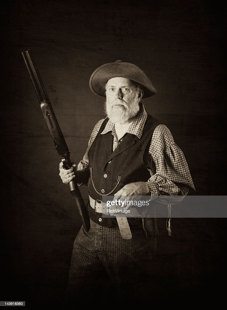 Man of the Wild West : Stock Photo