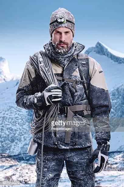 Mann der Wildnis