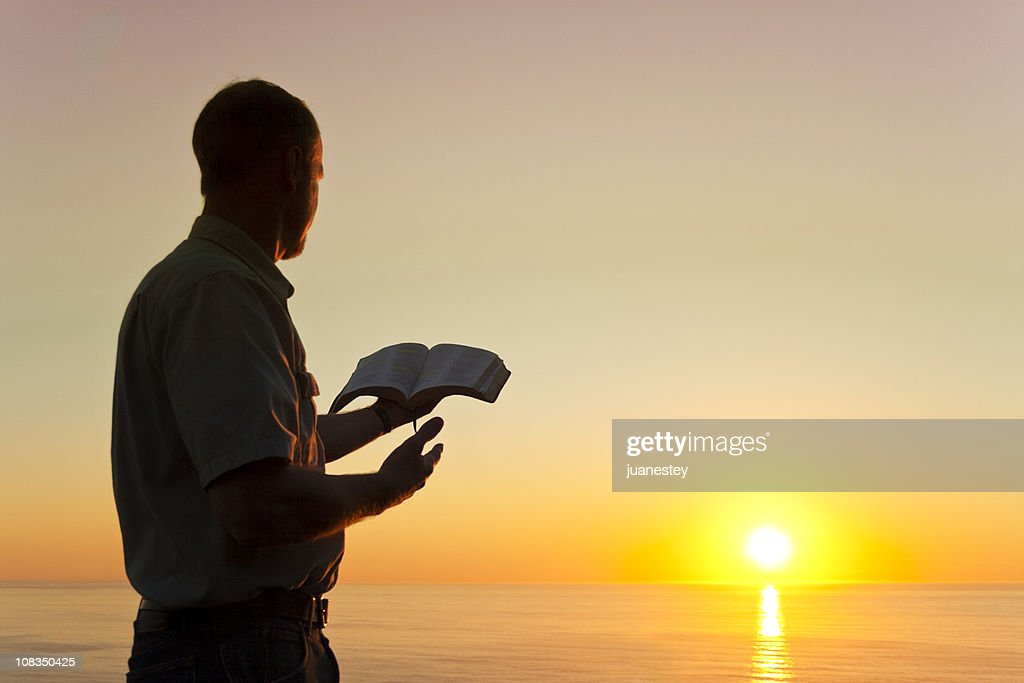 Man Offering Knowledge : Stock Photo