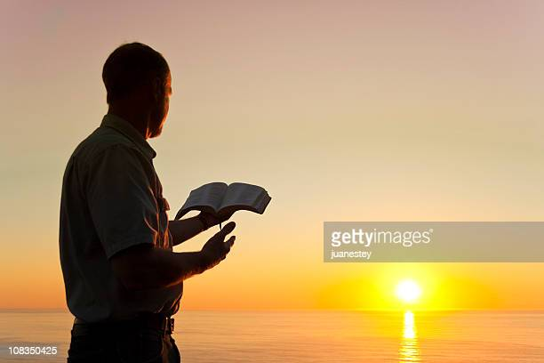 Man Offering Knowledge