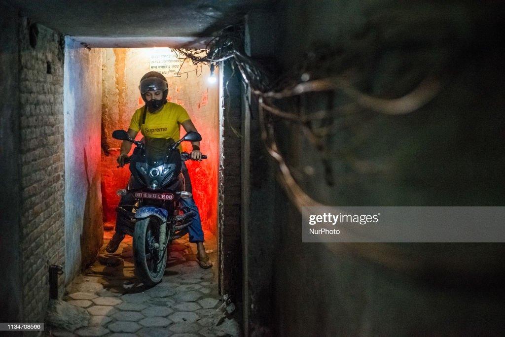 Daily Life In Thamel District, Kathmandu : News Photo