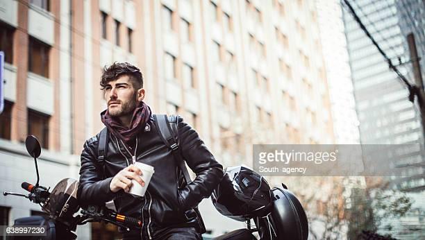 男性には、モーターサイクル