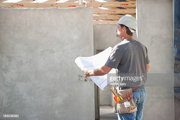 Man on construction site
