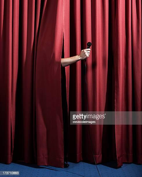 man on stage - opening event bildbanksfoton och bilder