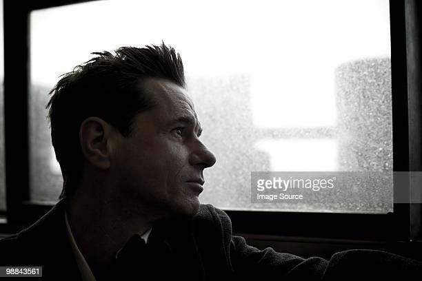 Man on staten island ferry