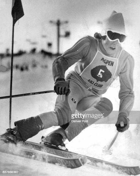 Man On The Way To the World Cup Ingemar Stenmark of Sweden won both the slalom and the cup with this run Sunday at Aspen Highlands Credit Denver Post