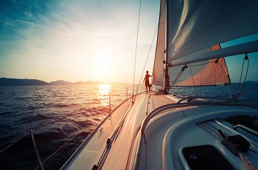Man on the yacht 583971628