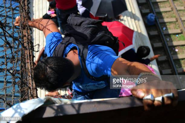 A man on top of a train travelling back home to be with his family ahead of the Muslim festival of Eid alAdha in Dhaka Muslims around the world...