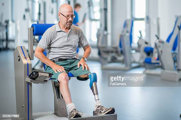 Man Overcoming Adversity