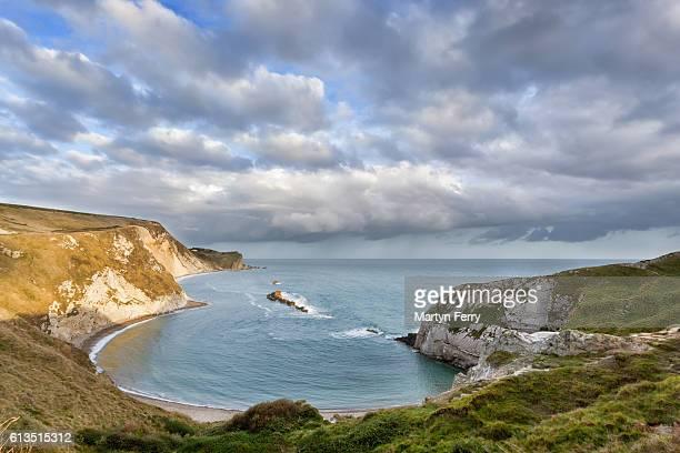 Man O'War Bay, Lulworth, Isle of Purbeck, Dorset, UK