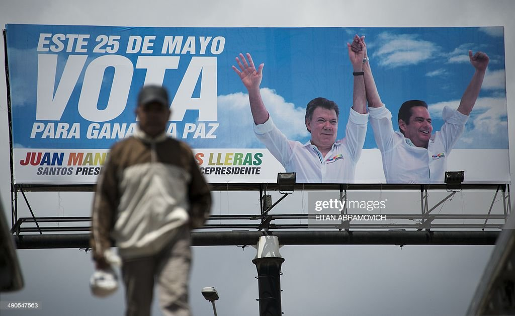 COLOMBIA-ELECTION-CAMPAIGN : News Photo