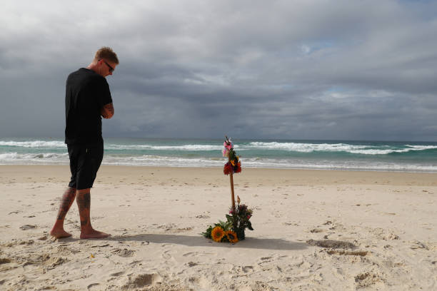 AUS: Tributes Form at Palm Beach for Alex Chumpy Pullin