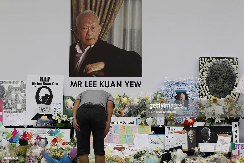 Singapore Continues Public Mourning Of Founding Prime Minister Lee Kuan Yew