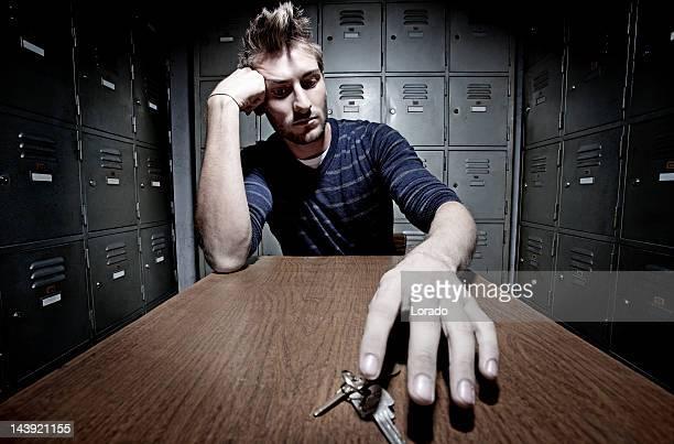 Homme choisir key