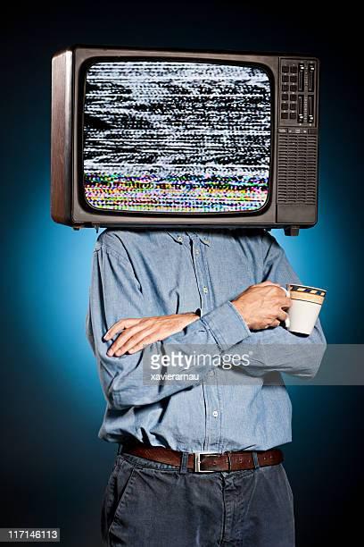 テレビの男性 - insight tv ストックフォトと画像
