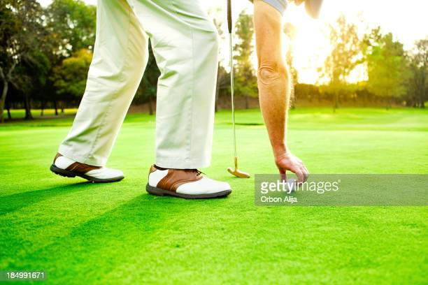 Man 配置ゴルフボール