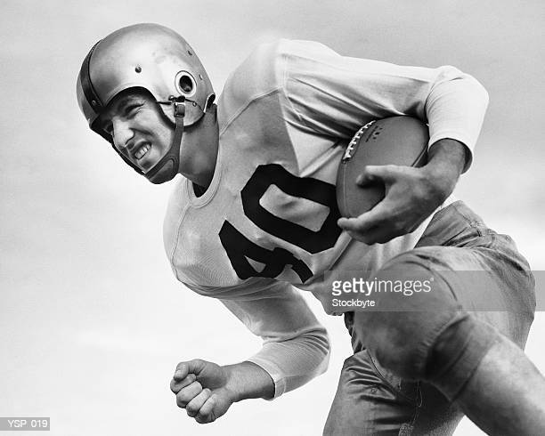 man playing football - american football strip stock pictures, royalty-free photos & images