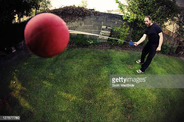 man playing - scott macbride stock pictures, royalty-free photos & images