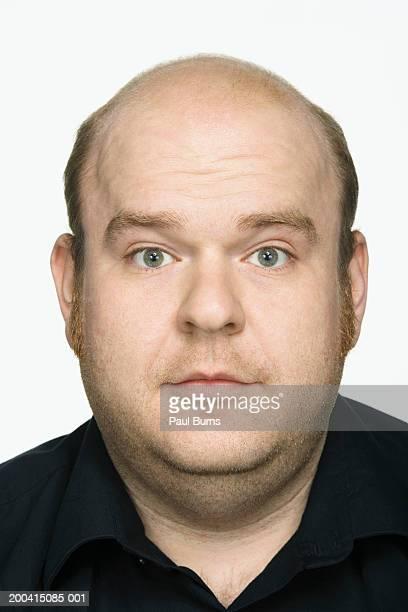 Man, portrait, close-up